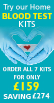 Try our home blood test kits
